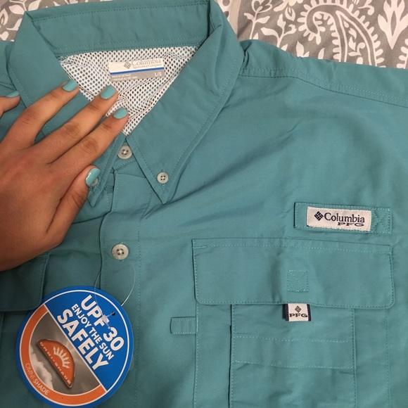 71451fddc73 Columbia Shirts   Mens Pfg Tamiami Ii Short Sleeve Shirt   Poshmark